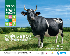 Affiche salon international agriculture 2017