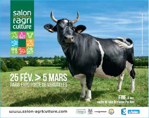 Affiche du Salon International  de l'Agriculture, édition 2017