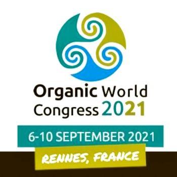 Affiche du congrès mondial de la bio 2021