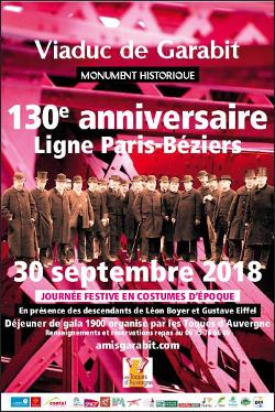 Anniversaire de la ligne Paris-Béziers