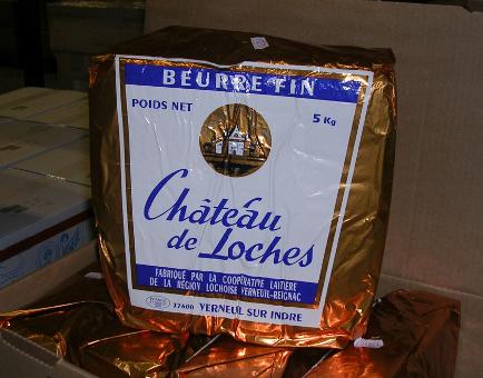 Le beurre Château de Loches