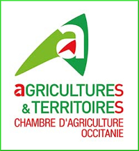 Le logo de la chambre d'agriculture d'Occitanie