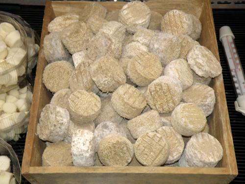 Des crottins de Chavignol affinés, de la ferme de Port Aubry