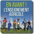Couverture du dossier : En avant l'enseignement agricole