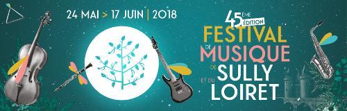 Affiche du festival de musique de Sully édition 2018