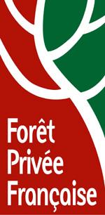 Le logo de la Forêt Privée Française