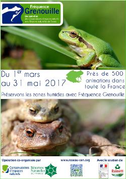 L'affiche de l'opération Fréquence Grenouille 2017