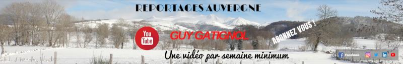 Guy Gatignol, le bandeau de sa chaîne Youtube