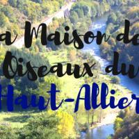 Ma bannière de la Maison des Oiseaux du Haut-Allier