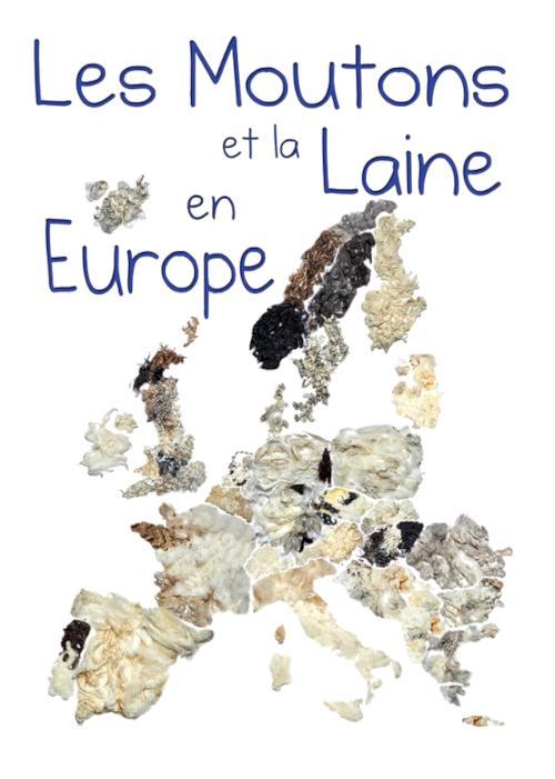 La couverture du livre Les moutons et la laine en Europe