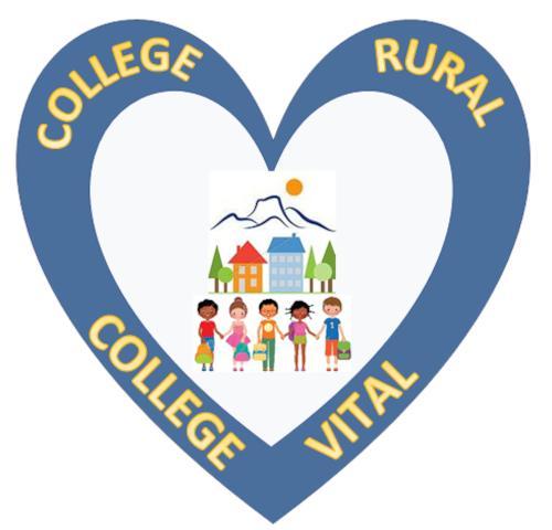 Le logo de l'association Collège rural, collège vital