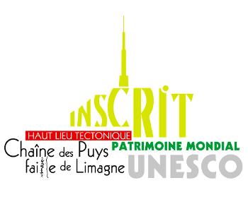 Logo de la chaîne des Puys classée