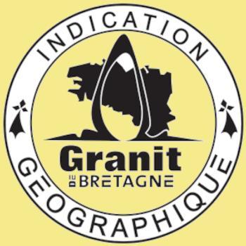 Le logo de l'Indication Géographique Granit de Bretagne