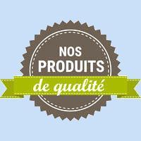 le logo du site nos produits de qualité