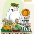 L'affiche de la campagne Manger bio et local de 2016