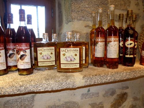 Des boissons, alcoolisées, à la châtaigne