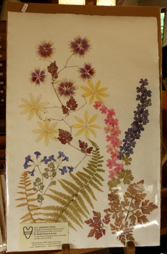 Une composition florale réalisée par une bouquetière du moulin