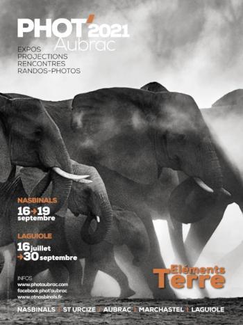 Affiche du festival Phot'Aubrac 2021