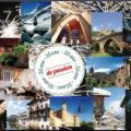 L'affiche des 35 ans de l'association Les plus beaux villages de France