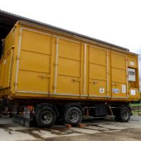 Photo du séchoir-conteneur acheté par la cuma St Gatovert