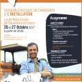 L'affiche de la session d'accueil agricole des Pyrénées-Atlantiques
