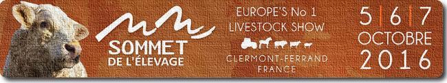 Bannière du Sommet de l'Elevage, édition 2016