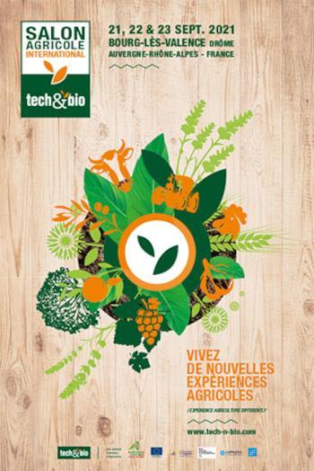 L'affiche de l'édition 2021 du salon Tech et Bio