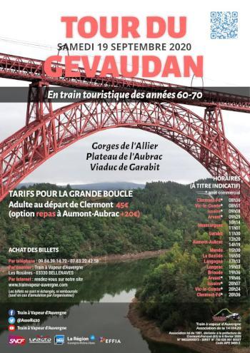 Tour du Gévaudan, affiche de l'événement