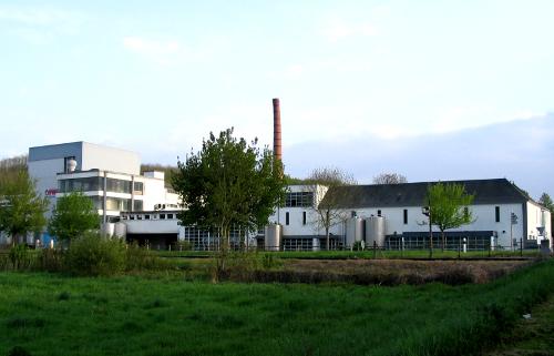 Une vue d'ensemble de la laiterie Verneuil